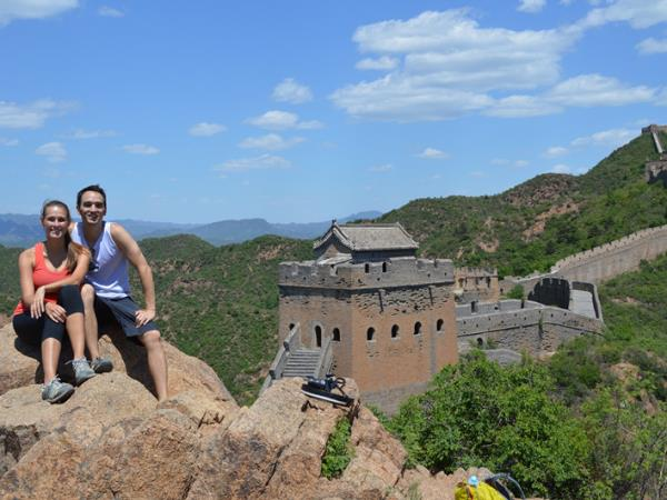 Great Wall of China cycling holiday
