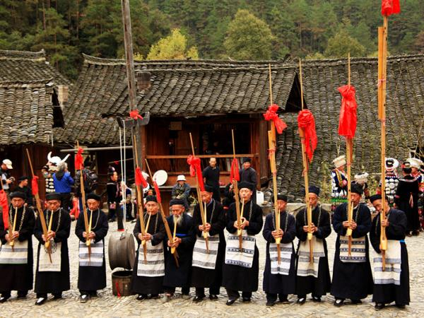 Southwest China tour, Miao festivals & villages