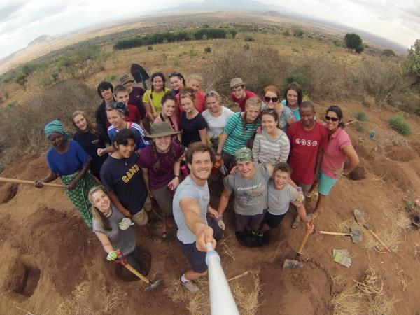 Kenya community volunteering project, 8 weeks