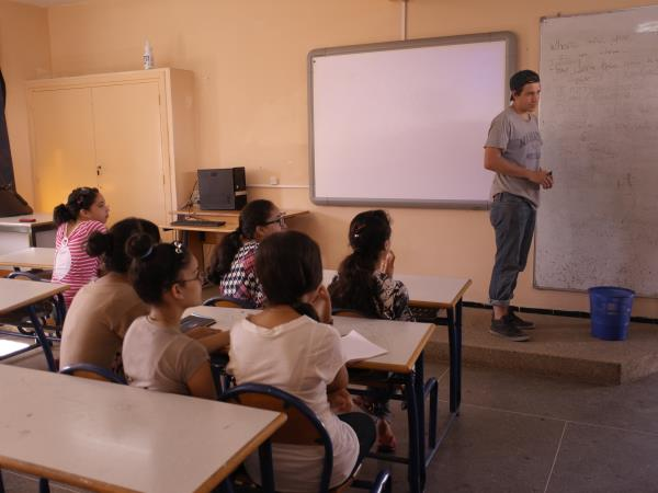 Teaching abroad in Morocco