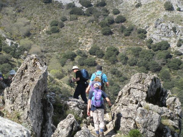 Grazalema self guided walking holiday in Spain