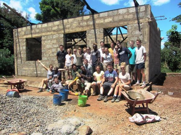 Kenya community volunteering