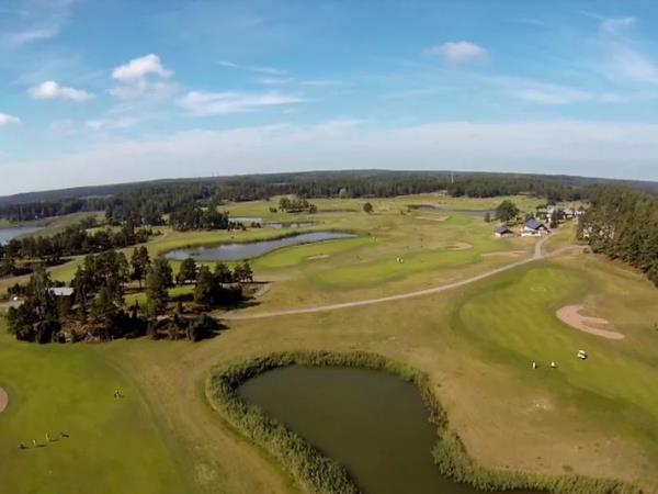 Golf and sailing holiday in Finland