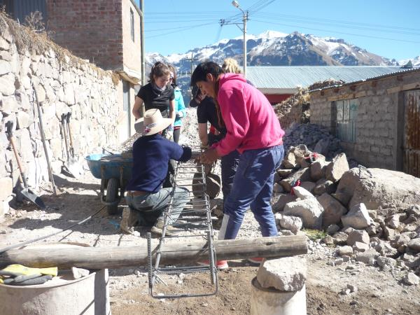 Volunteering in the Andes, Peru