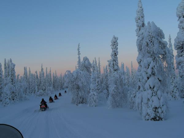 Finnish Lapland holiday, New Year in Luosto