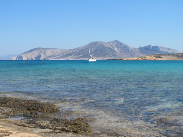 Sailing holiday in the Aegean Sea