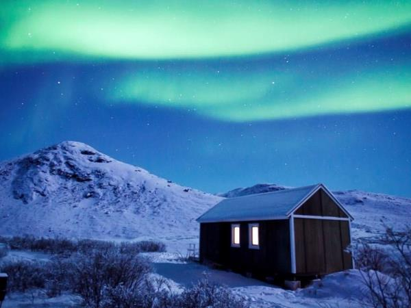 Greenland Northern Lights holiday, Kangerlussuaq ice cap
