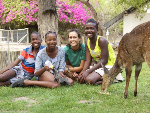 Volunteer with children & animals in South Africa