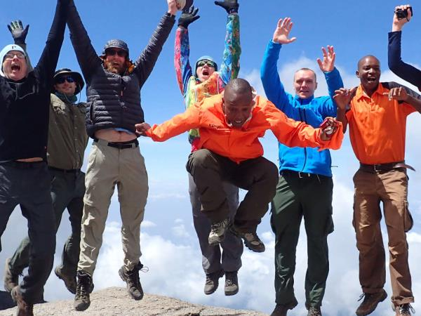 Private tailor made Kilimanjaro climb and Zanzibar