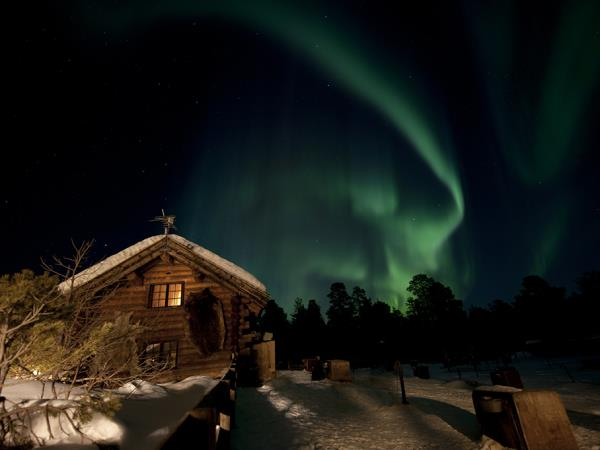 Northern lights winter holiday, Norway