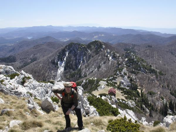 Croatia holiday, hiking in the National Parks