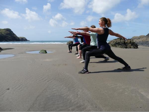Fitness and activity holiday in Wales