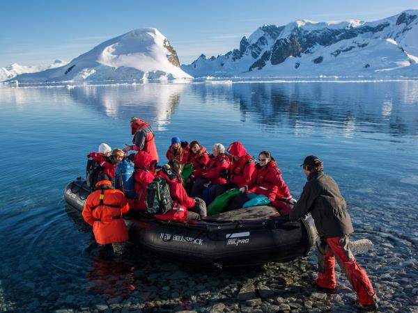 Antarctic cruise expedition