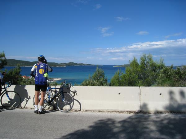Croatia biking tour, Zadar to Mali Losinj
