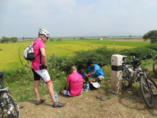 Southern India cycling holiday