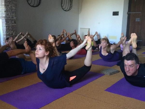 Yoga holiday in Italy