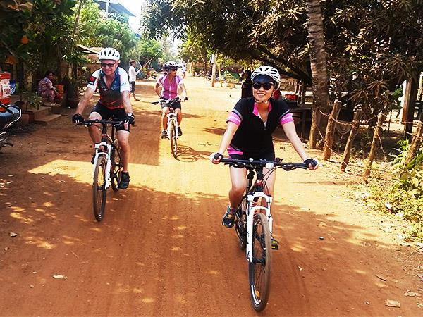 Cambodia cycling holidays