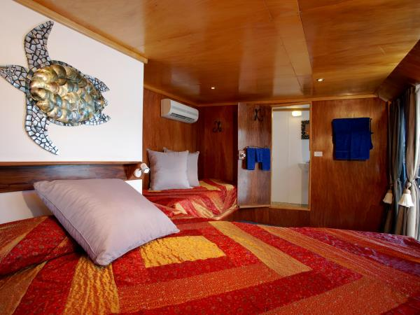 Tui Tai cruising holiday in Fiji