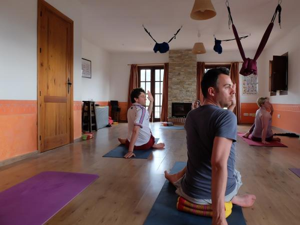 Yoga retreat in Malaga, Spain