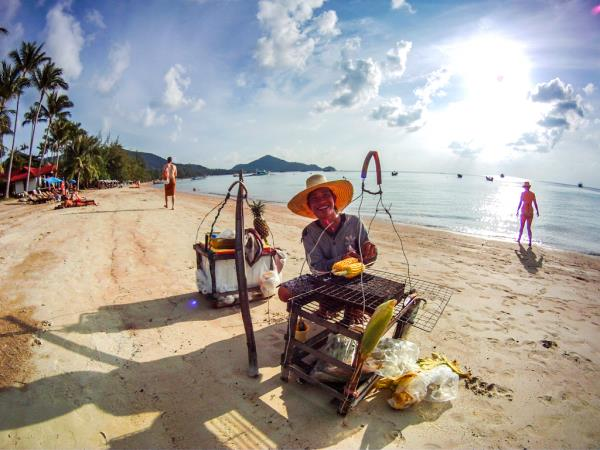Thailand holiday, culture and beach
