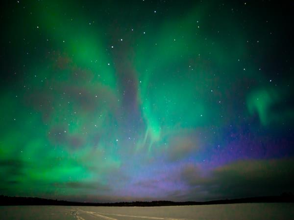Northern Lights activity holiday, Finnish Lapland