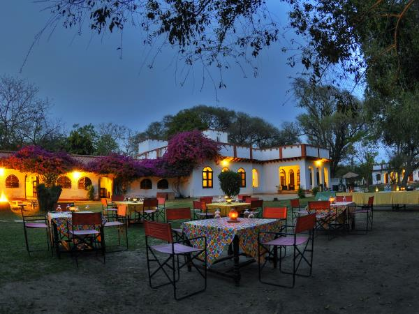 Chambal safari lodge near Agra, India