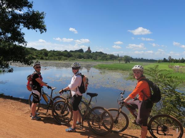 Cambodia cycling tour