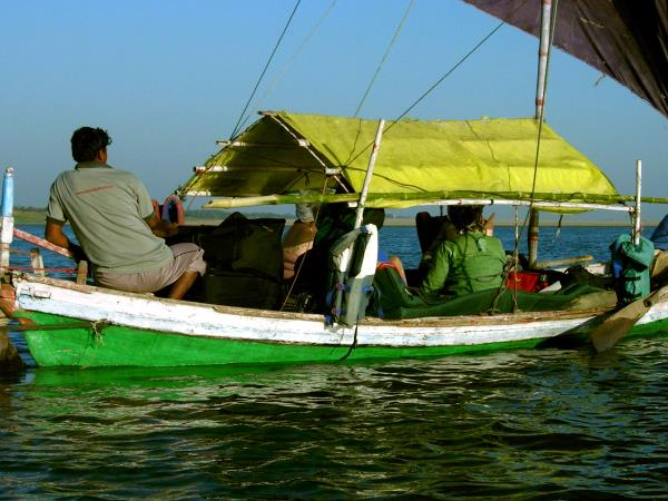 Ganges tour, Delhi to Calcutta