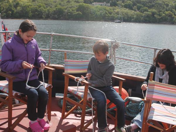 Scotland wildlife cruise, marine biology