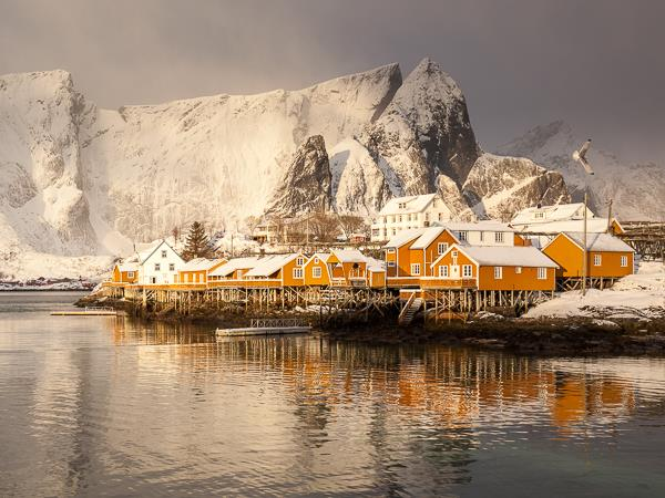 Lofoten Islands winter photography holiday, Norway