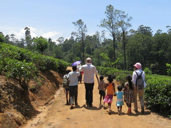 Family holiday in Sri Lanka, Forts & Monkeys