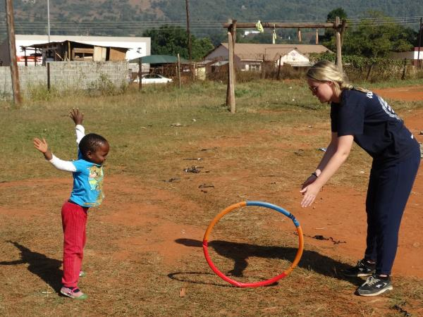 Sports development project in Swaziland