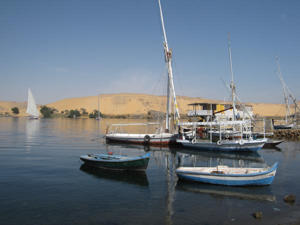 Nile felucca cruise in Egypt