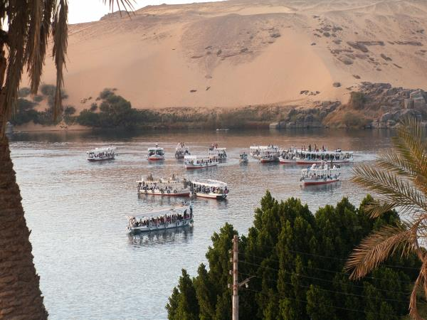 Self catering house on the Nile near Aswan, Egypt
