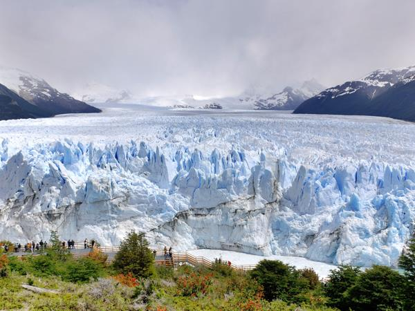 Patagonia family holiday, glacial lakes and mountains