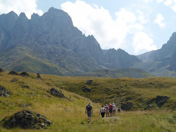 Walking holiday in Georgia, the winelands to the Caucasus