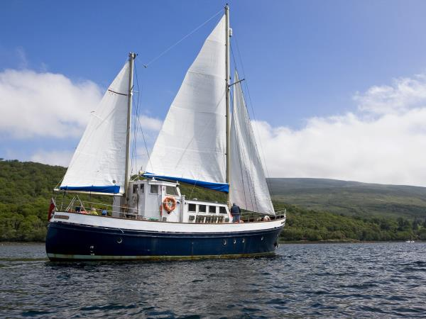 Mull holiday while staying on a boat