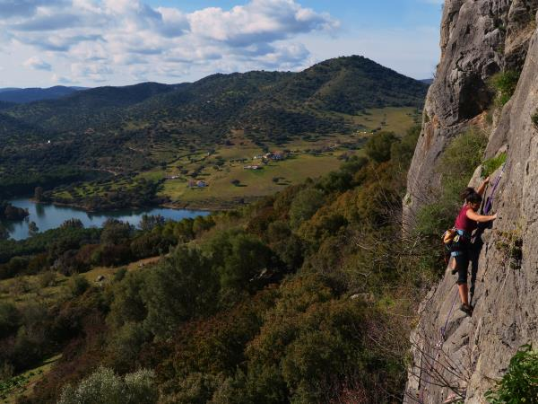 Rock climbing holiday in Andalusia