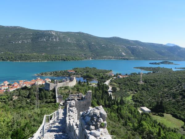 Croatian coast walking tours, self guided