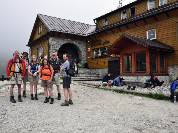 Slovakia guided walking holiday in the High Tatras