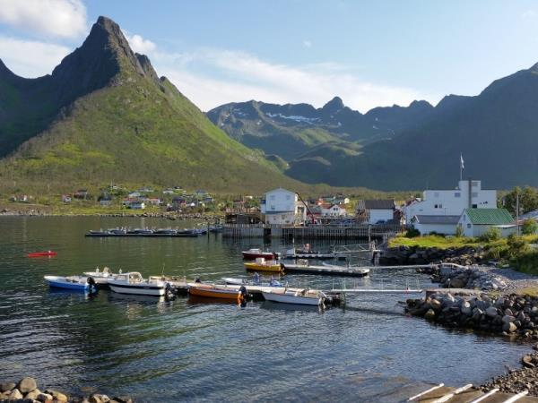 Self guided biking tour in Norway, Arctic Coast