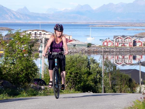 Self guided cycling holiday in Norway, Helgeland