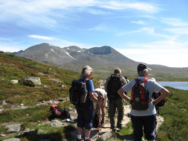 Walking holiday in Norway, Rondane National Park