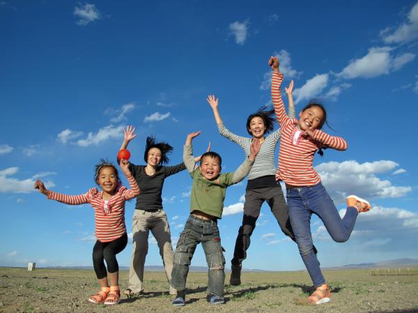 Mongolia family adventure holiday