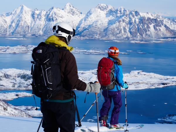 Skiing and sailing holiday in Norway
