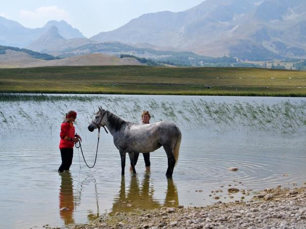 Durmitor horse riding holiday in Montenegro