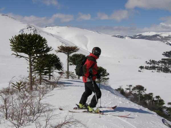 Chile ski touring holiday
