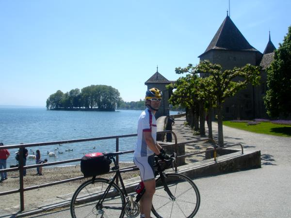 Self guided cycling short break in Switzerland and France