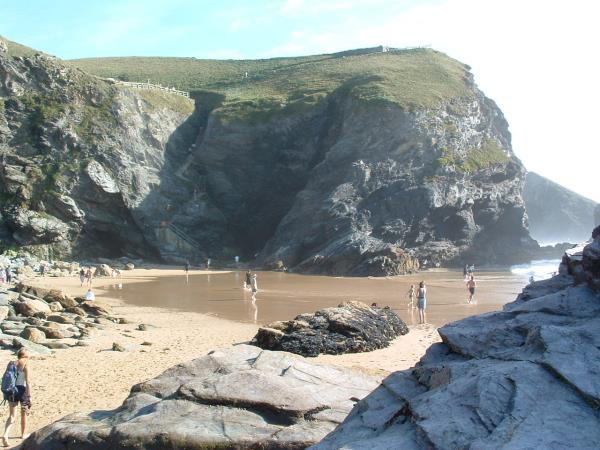 South West Coastal Path walking holiday, England