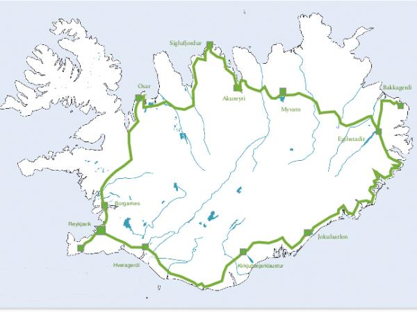 Highlights of Iceland self drive holiday
